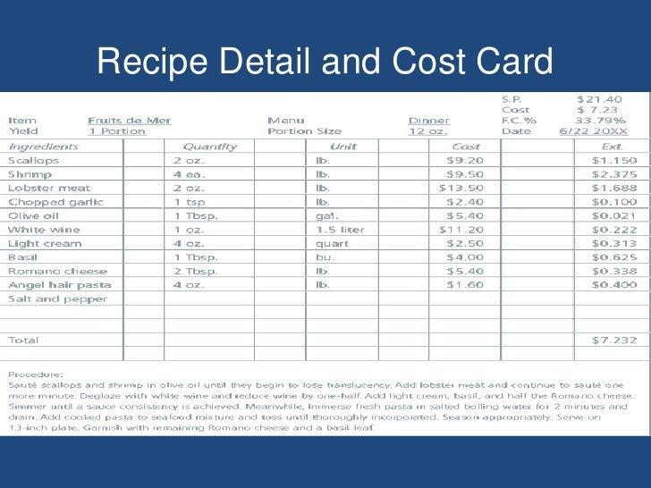 cost calculator excel template