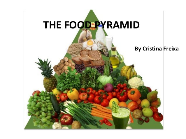 THE FOOD PYRAMIDBy Cristina Freixa