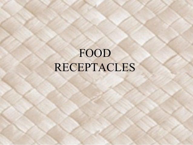 Food receptables