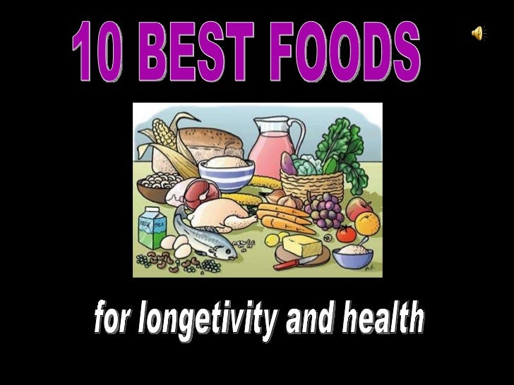 Foods for Longevity and Health - by BETIKOH
