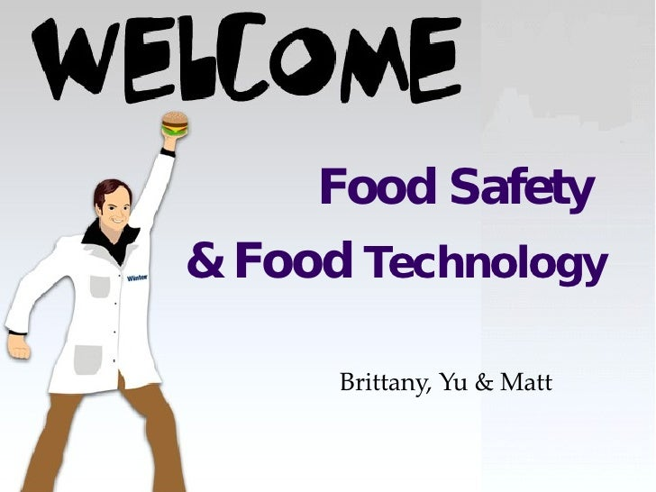 Food Safety And Technology