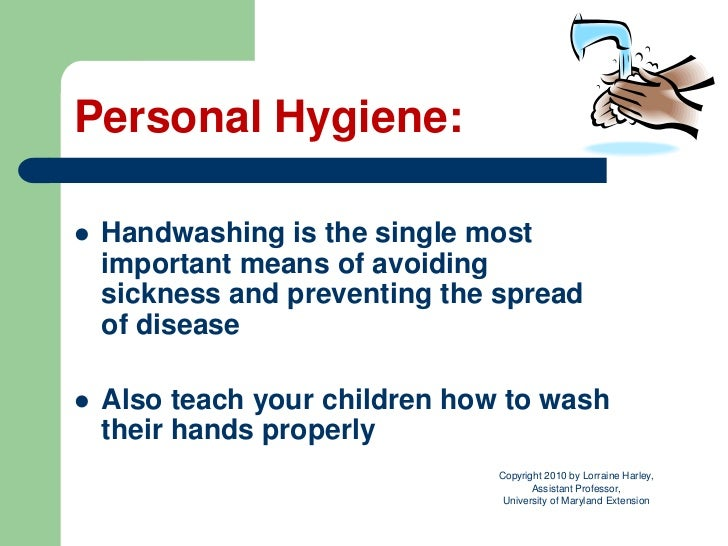 Essay about health and hygiene