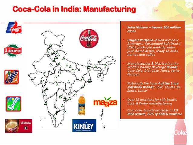 marketing management coca cola india With its marketing strategy coca-cola secured more than  in india coca-cola ranked third behind  management of coca-cola bottling partners are.
