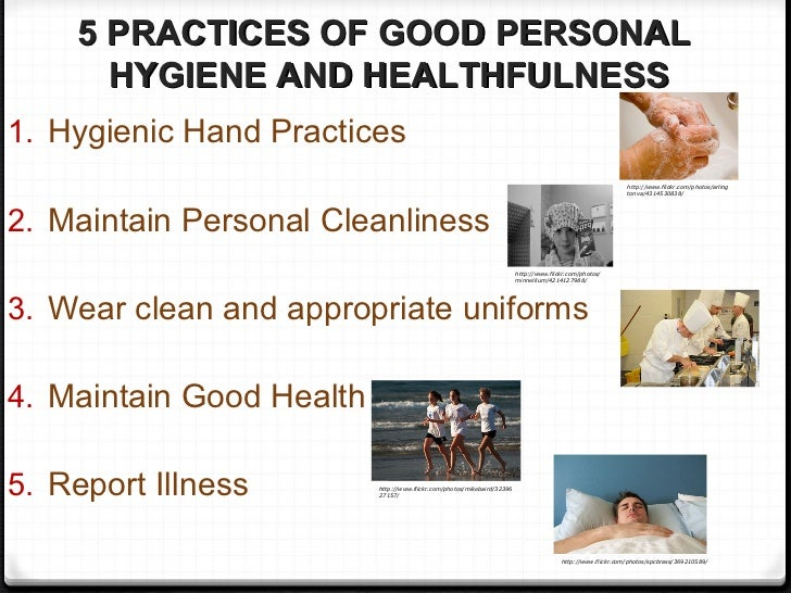 sanitation good personal hygiene When a person has good hygiene, they do more than just make  when it comes  to the workplace, cleanliness and personal hygiene are of utmost  these efforts  include ensuring sanitary washrooms equipped with hand.