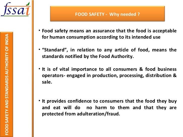Food Hygiene Regulations  Summary