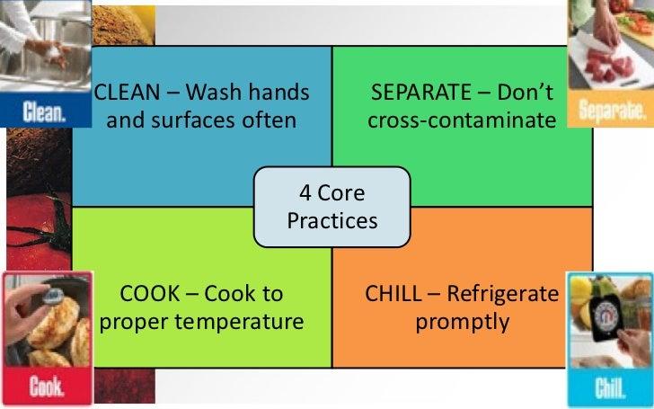 Room Temperature Food Handling