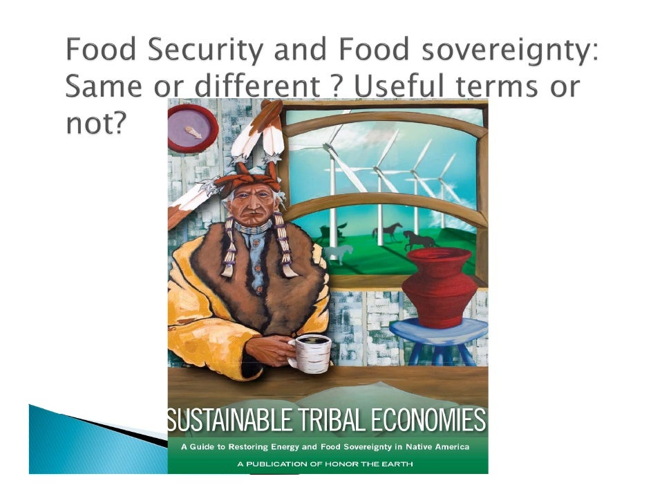 Presents an alternative to existing system   dominated by large scale, high input production   and liberal/global trade.  ...