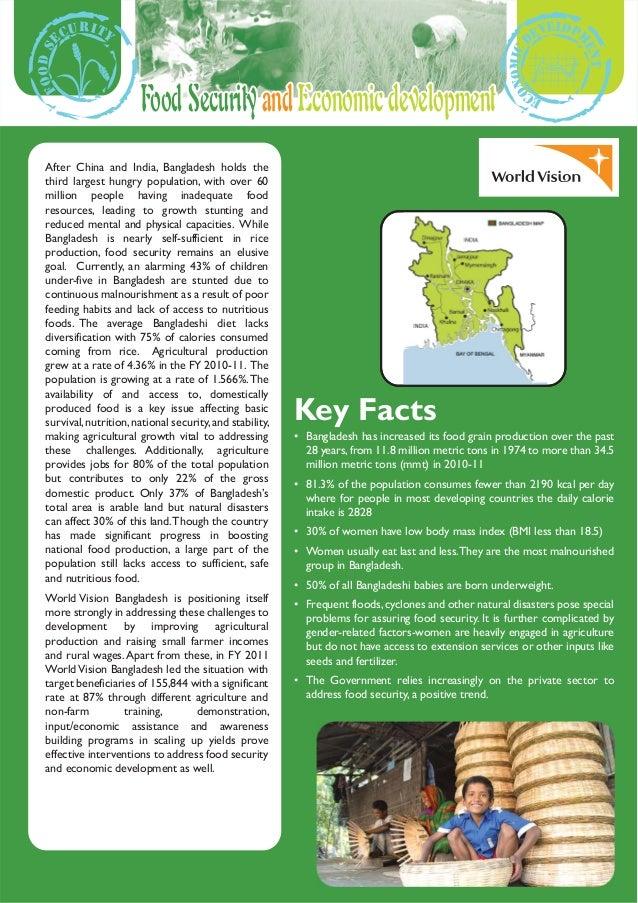 Food security and economic development