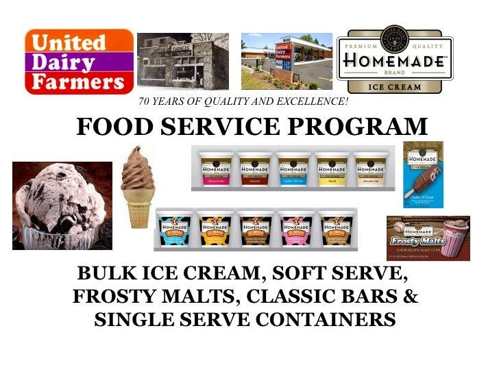 Food Service Presentation