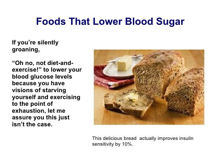 Foods that lower sugar blood sugar quickly