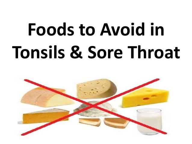Food Drinks Good For Sore Throat
