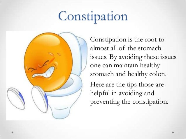 A Food Diet for Eliminating Chronic Constipation