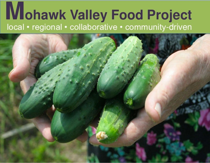 Mohawk Valley Food Project<br />local • regional • collaborative • community-driven<br />