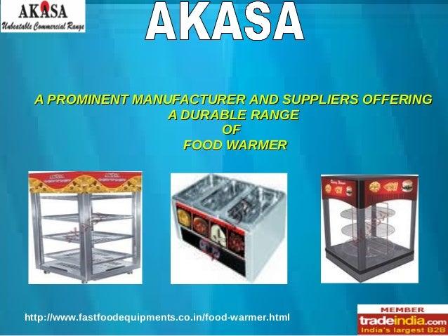 Electrical Food Warmer Exporter,Manufacturer,New Delhi