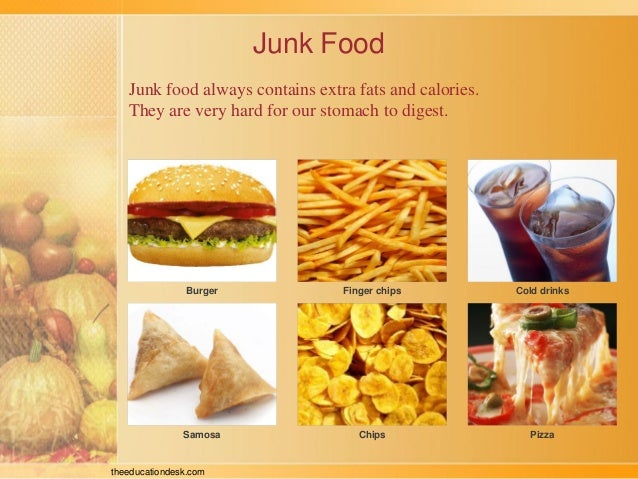 effect of eating junk food essay I am writing an essay on the effects of fast food on the human body i am having trouble putting all the facts into paragraphs all the things eating fast food causes (heart disease, weight gain, bad eating habits, etc) are all happening because of.