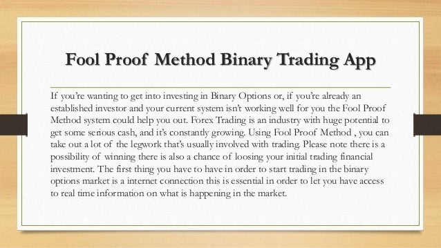 Binary options cash u