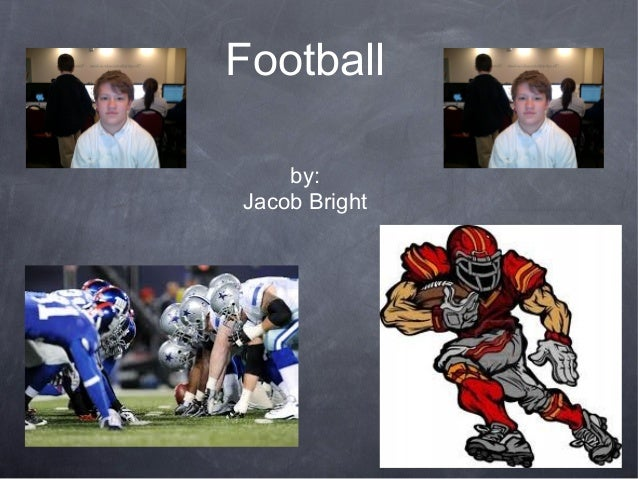 Football and Ice Cream by Jacob Bright