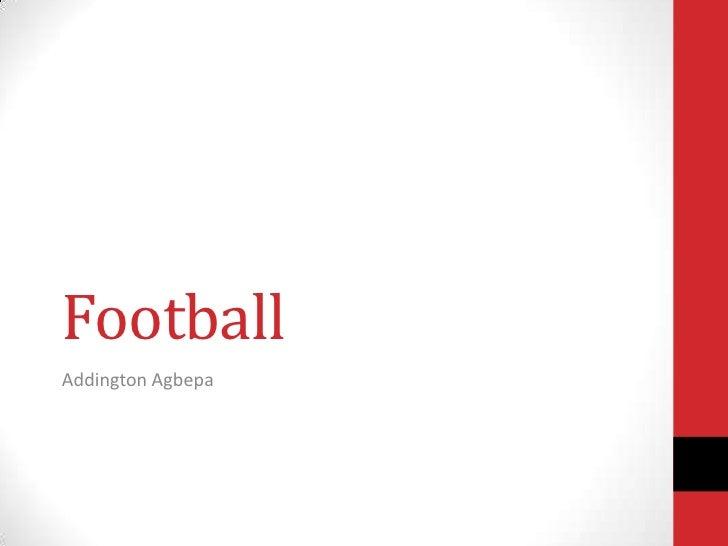 FootballAddington Agbepa