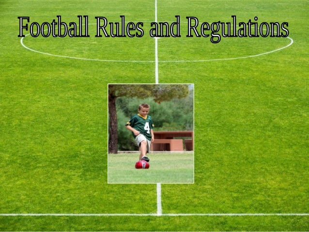 Objective of the GameThe most important part of the game of football is the goal, arectangular demarcated area at the end ...