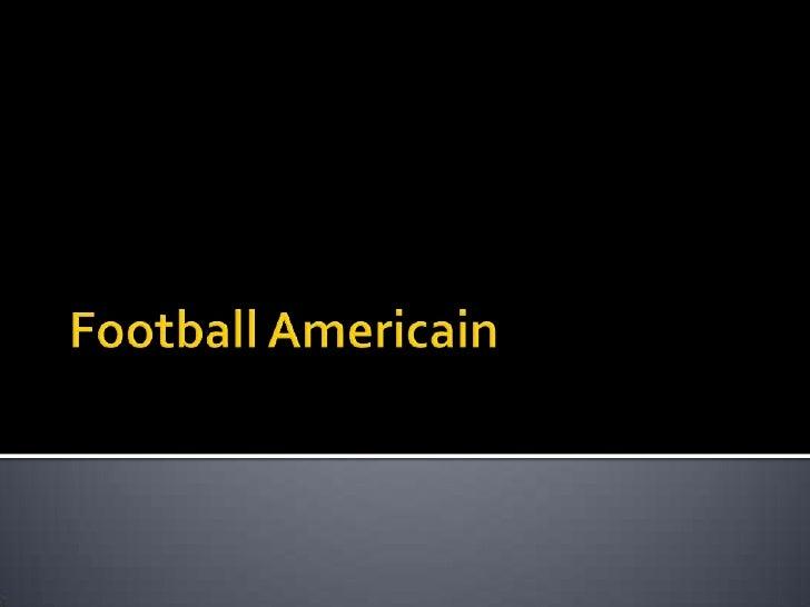 Football Americain<br />