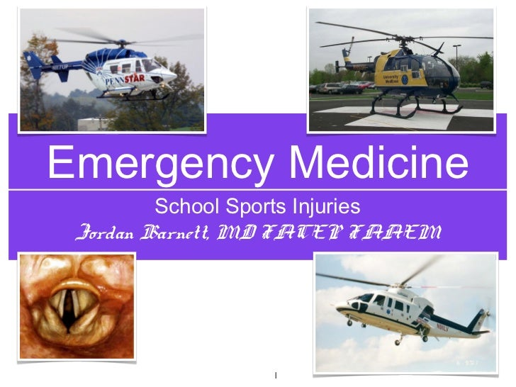 Sports Medicine subjects of high school