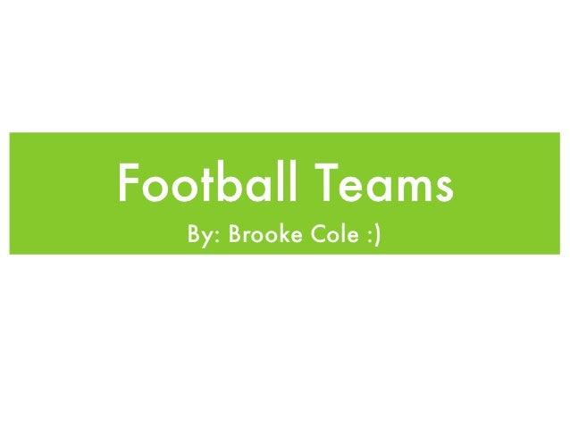 Football slideshow