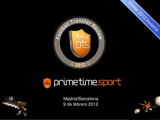 1 Madrid/Barcelona 9 de febrero 2012