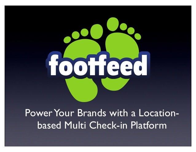 Footfeed Presentation