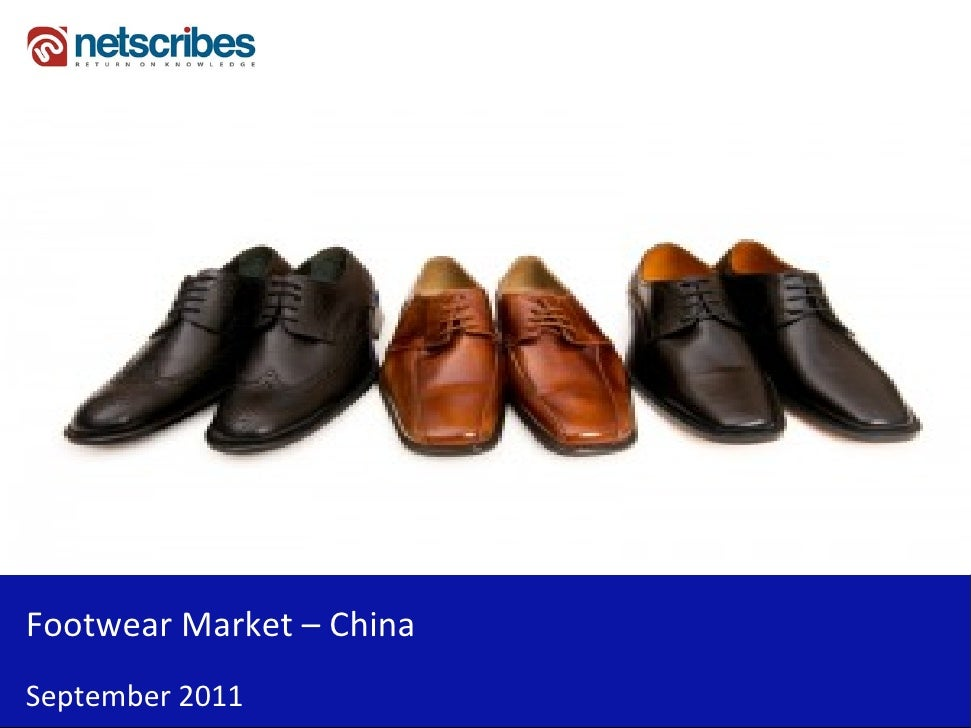 FootwearMarket– ChinaSeptember2011