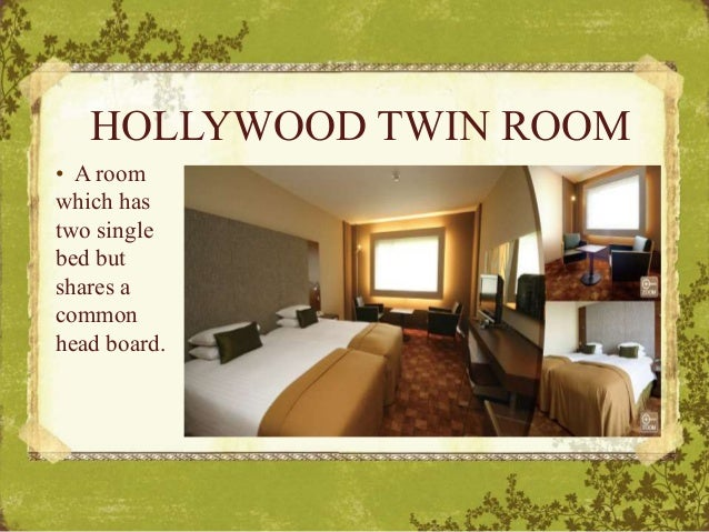 Single Or Standard Room Difference