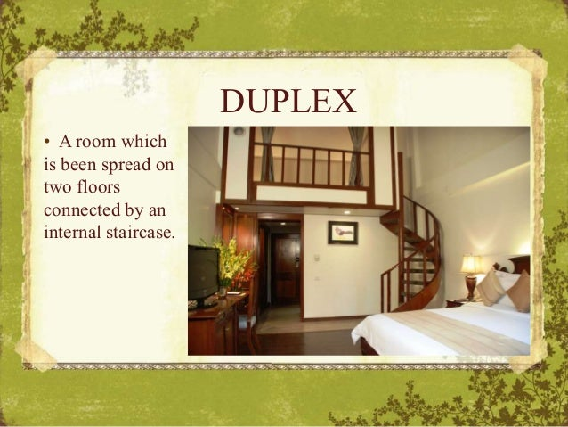 Duplex Room In Hotel Meaning