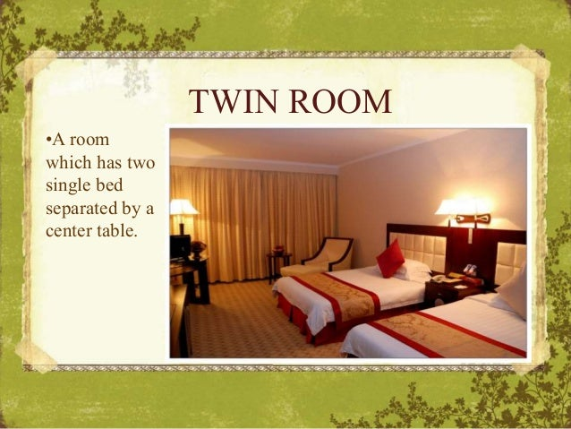Types Of Hotel Rooms
