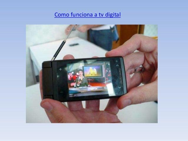 Como funciona a tv digital