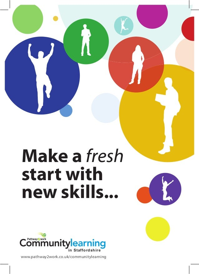 Community Learning Provider in Staffordshire - Adult Learning Programmes in Staffordshire,