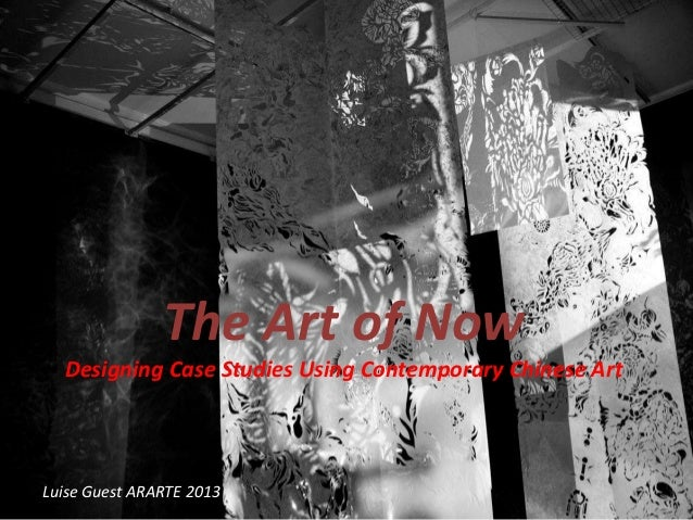 The Art of Now - using Chinese contemporary art with students