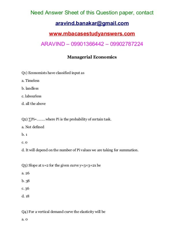managerial economics   vertical demand curve  elasticity wil