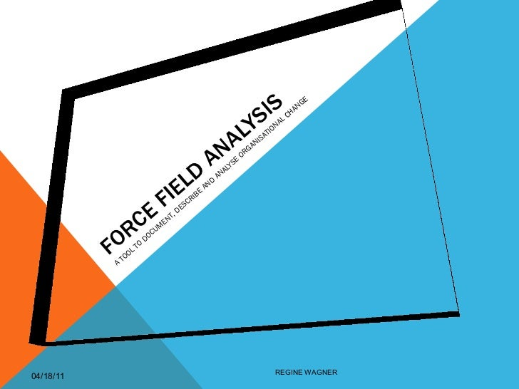 Force field analysis april2011