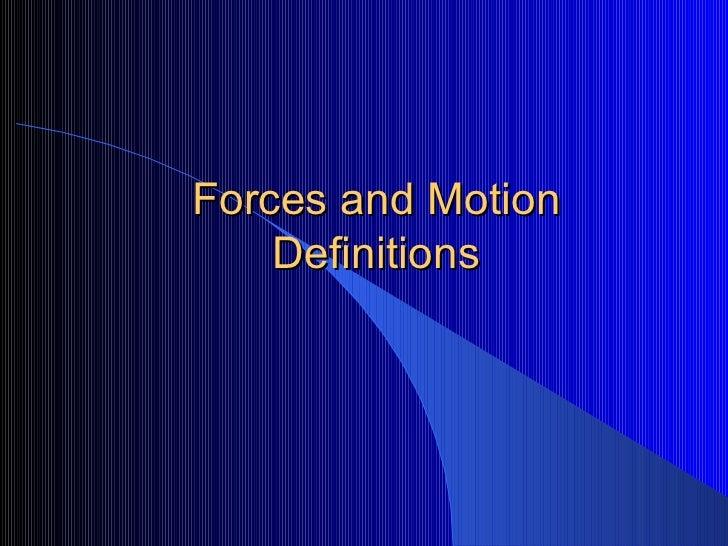 Forces 2