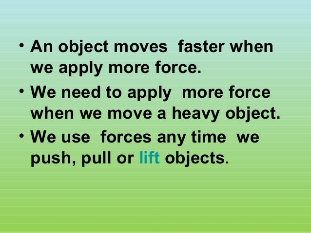 Non Contact Forces Gravity