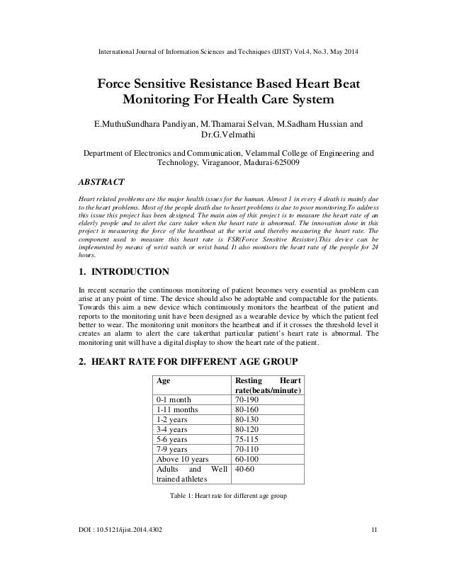 International Journal of Information Sciences and Techniques (IJIST) Vol.4, No.3, May 2014 DOI : 10.5121/ijist.2014.4302 1...