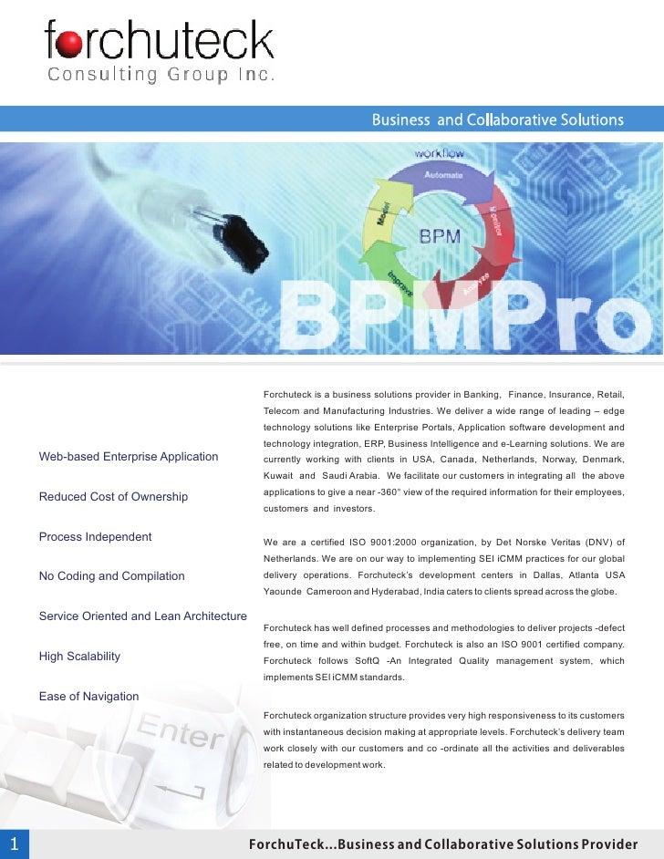 Forchu Teck BPM Pro Profile