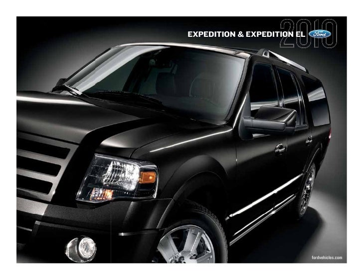 Ford 2010 Expedition Expedition El Brochure