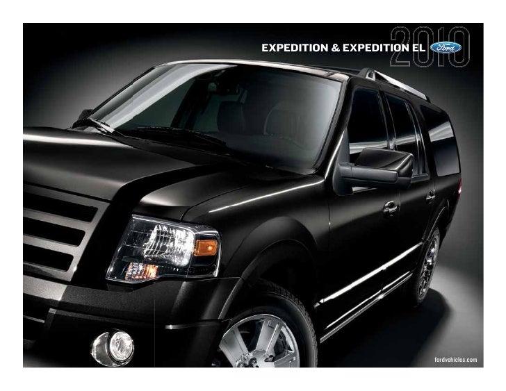 EXPEDITION & EXPEDITION EL                                  fordvehicles.com