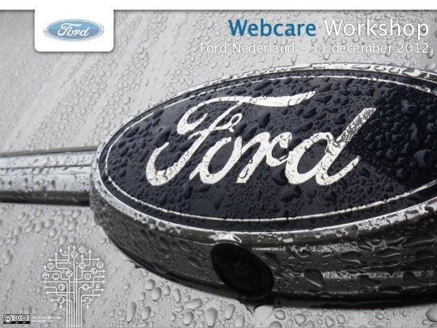 Workshop Webcare - Ford Academy