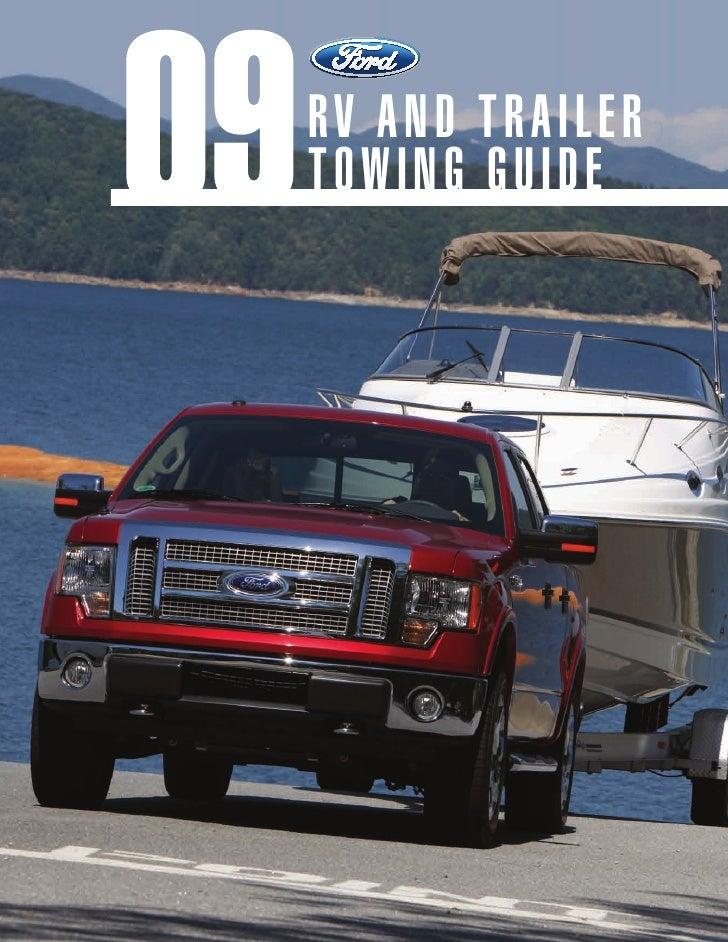 Ford e-series-trailer guide