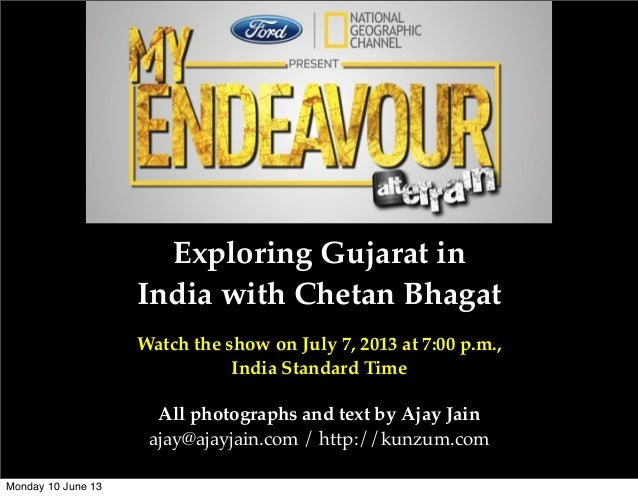Ford India - National Geographic: My Endeavour with Chetan Bhagat
