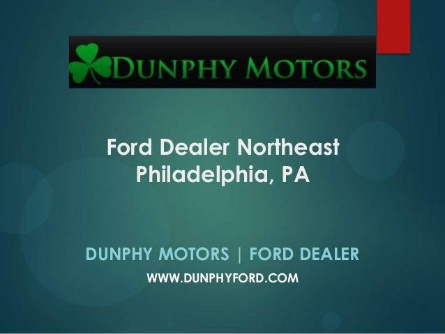 Ford Dealer Northeast Philadelphia, PA