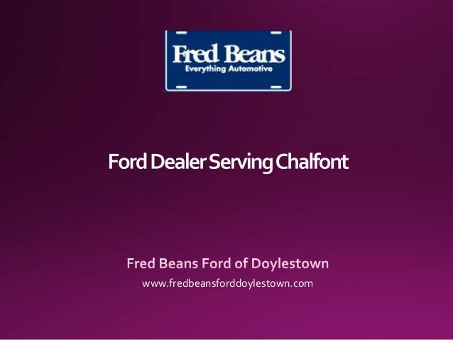 Ford Dealer Serving Chalfont