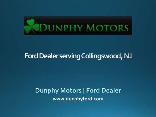 Ford Dealer serving Collingswood, NJ