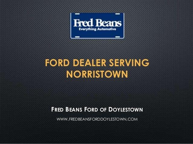 Ford Dealer Serving Norristown